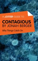 A Joosr Guide to ... Contagious by Jonah Berger
