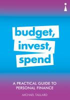 Budget, Invest, Spend