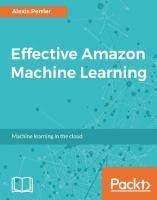Effective Amazon Machine Learning