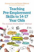 Teaching Pre-employment Skills to 14-17 Year-olds