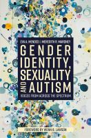 Gender Identity, Sexuality and Autism