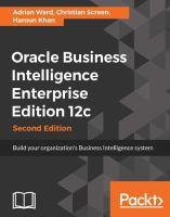 Oracle Business Intelligence Enterprise Edition 12c