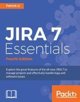 JIRA 7 Essentials