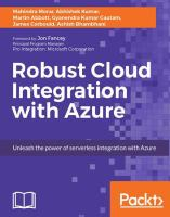 Robust Cloud Integration With Azure
