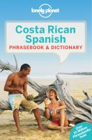 Costa Rican Spanish Phrasebook & Dictionary