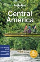 Lonely Planet Central America 10th Ed