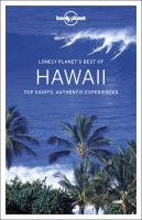 LONELY PLANET BEST OF HAWAII--ON ORDER FOR HERRICK!