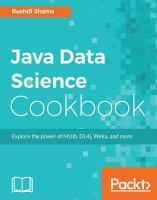 Java Data Science Cookbook