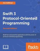 Swift 3 Protocol-oriented Programming