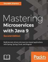 Mastering Microservices With Java 9