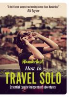 How to Travel Solo