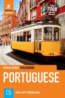 Rough Guides Phrasebook Portuguese