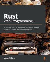 Rust Web Programming