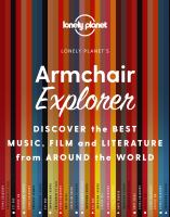 Lonely Planet Armchair Explorer: Discover the Best Music, Film and Literature Fr