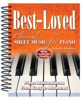 Image: Best-loved Classical Sheet Music for Piano
