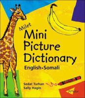 Milet Mini Picture Dictionary, English-Somali