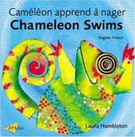 Cameleon apprend a nager