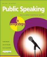 Public Speaking in Easy Steps