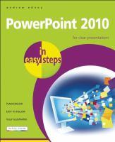 PowerPoint 2010 in Easy Steps