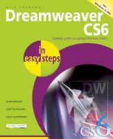 Dreamweaver CS6 in Easy Steps