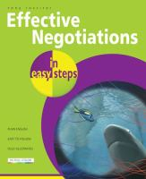 Effective Negotiations in Easy Steps