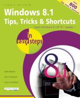 Windows 8.1 Tips, Tricks & Shortcuts