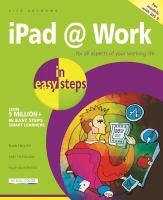 IPad @ Work in Easy Steps