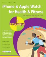 IPhone & Apple Watch for Health & Fitness