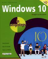 Windows 10 in Easy Steps