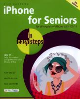 IPhone for Seniors in Easy Steps
