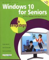 Windows 10 for Seniors