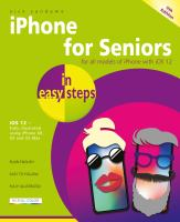 Image: IPhone for Seniors in Easy Steps
