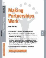 Making Partnerships Work