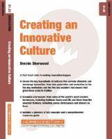 Creating An Innovative Culture