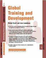 Global Training and Development