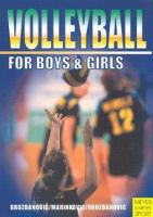 Volleyball For Boys &•and– Girls
