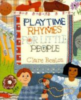 Playtime Rhymes for Little People