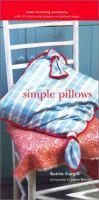 Simple Pillows