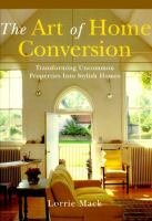 The Art Of Home Conversion