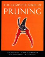 The Complete Book of Pruning