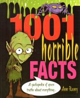 1001 Horrible Facts