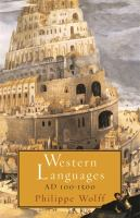 Western Languages A.D. 100-1500