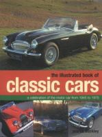 The Illustrated Book of Classic Cars