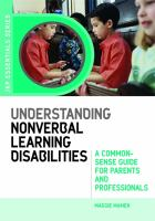 Understanding Nonverbal Learning Disabilities