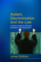 Autism, Discrimination, and the Law