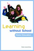 Learning Without School