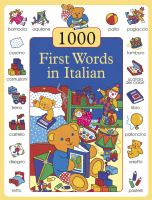1000 Italian First Words