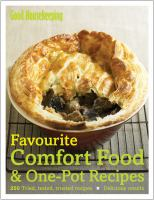 Favourite Comfort Food & One-pot Recipes