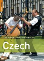 The Rough Guide Phrasebook Czech
