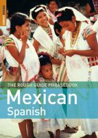 The Rough Guide Mexican Spanish Phrasebook